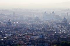 Panorama de ville de Rome Photos libres de droits
