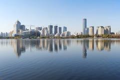 Panorama de ville de Shenyang Images libres de droits