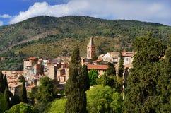 Panorama de ville de Tivoli image stock