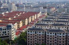 Panorama de ville de Zhejiang de la Chine images stock
