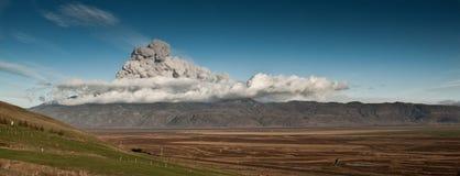 Panorama de volcan Image libre de droits