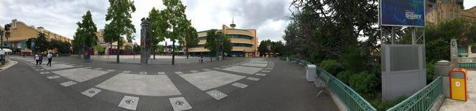 Panorama de Walt Disney Studios Park Images libres de droits