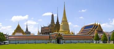 Panorama de Wat Phra Keow Imagenes de archivo