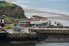 Panorama de whitby Imagem de Stock Royalty Free