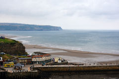 Panorama de whitby Fotografia de Stock Royalty Free