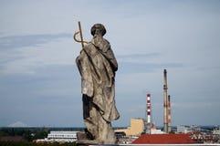 Panorama de Wroclaw imagen de archivo libre de regalías