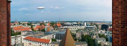 Panorama de Wroclaw image stock