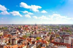 Panorama de Wroclaw Fotos de archivo