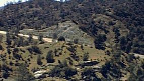 Panorama de Yosemite NP banque de vidéos