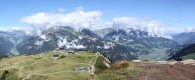 Panorama de Zillertal Fotografía de archivo libre de regalías
