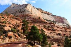 Panorama de Zion National Park Imagens de Stock Royalty Free