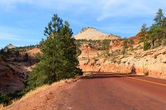Panorama de Zion National Park Photo libre de droits
