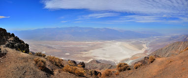 Panorama Death Valley images stock
