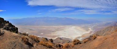 Panorama Death Valley immagini stock