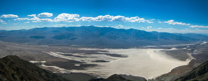 Panorama of Death Valley Royalty Free Stock Photography
