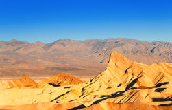 Panorama of the Death Valley rocks Stock Photography