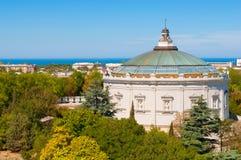 Panorama of Defense of Sevastopol Royalty Free Stock Images
