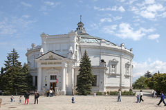 Panorama of defensive of Sevastopol Stock Photo