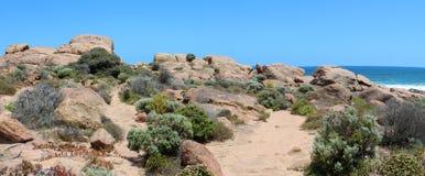 Panorama del acceso Smith Australia del oeste de las rocas Fotos de archivo