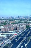 Panorama del airview di New York del parco di rego del Queens fotografie stock