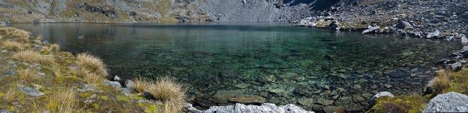 Panorama del alto del lago Fotografía de archivo libre de regalías