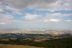 Panorama del bordo della Puglia Fotografia Stock