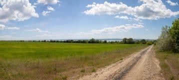Panorama del campo Imagen de archivo libre de regalías