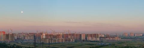 Panorama del cantiere Immagine Stock