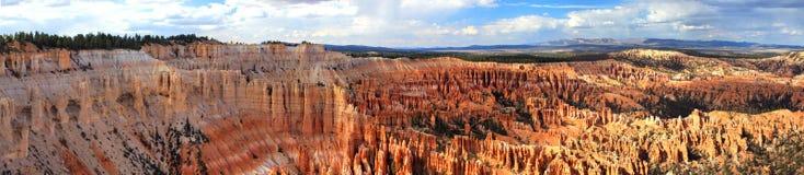Panorama del canyon di Bryce fotografia stock libera da diritti