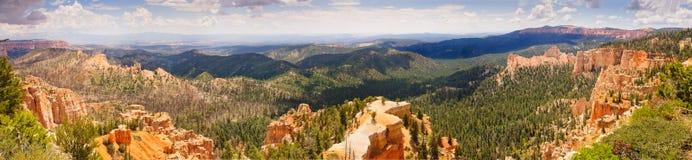 Panorama del canyon di Bryce immagine stock