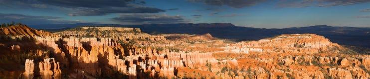 Panorama del canyon di Bryce Immagini Stock Libere da Diritti
