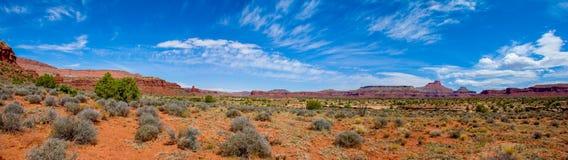 Panorama del canyon di Frye immagini stock