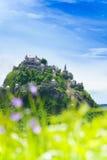 Panorama del castello di Hochosterwitz in Austria Fotografia Stock Libera da Diritti