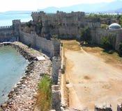 Panorama del castillo de Mumure foto de archivo
