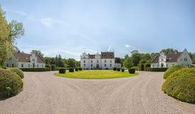 Panorama del castillo de Wanas Imagen de archivo libre de regalías
