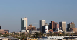Panorama del centro di Phoenix Fotografia Stock Libera da Diritti