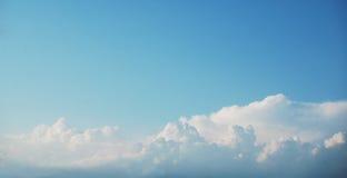 Panorama del cielo Fotos de archivo libres de regalías