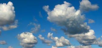 Panorama del cielo Fotografie Stock Libere da Diritti