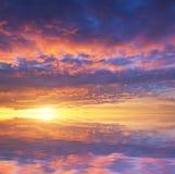 Panorama del cielo imagen de archivo libre de regalías