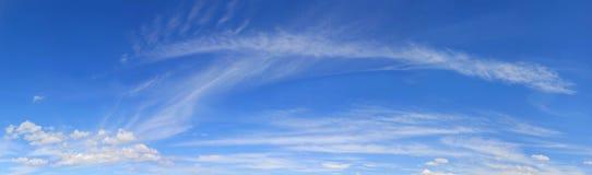 Panorama del cielo immagine stock libera da diritti