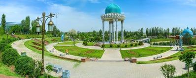 Panorama del complejo conmemorativo foto de archivo