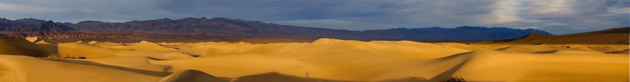 Panorama del Death Valley fotografie stock