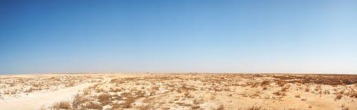 Panorama del desierto de Oriente Medio foto de archivo libre de regalías