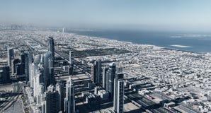 Panorama del Dubai Immagine Stock