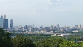 Panorama del estadio de Moscú y de Luzhniki metrajes