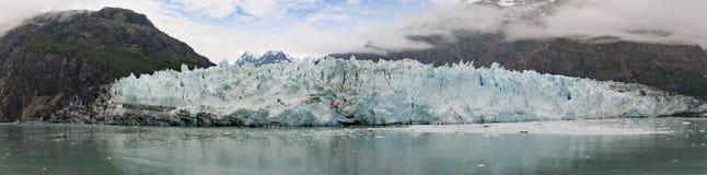 Panorama del glaciar de Margerie foto de archivo libre de regalías