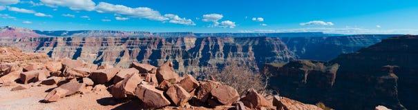 Panorama del Gran Cañón Fotos de archivo libres de regalías