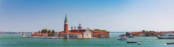 Panorama del Gran Canal, Venecia, Italia fotos de archivo