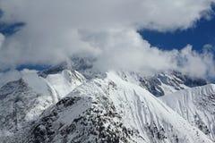Panorama del Hils, Les Deux Alpes, Francia, francese Fotografia Stock Libera da Diritti