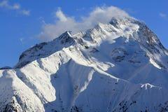 Panorama del Hils, Les Deux Alpes, Francia, francese Immagini Stock Libere da Diritti
